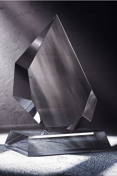 Placa Asimétrica de Cristal