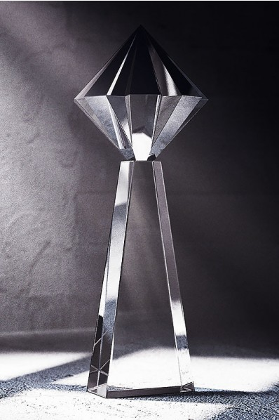 Trofeo Esbelto de Cristal