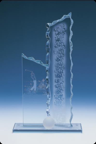 Placa de Cristal Desportillada
