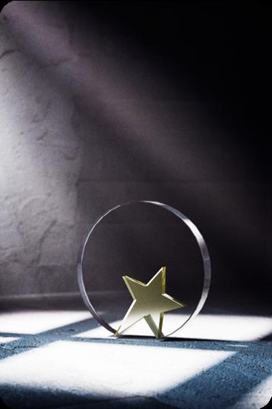 Placa con Estrella