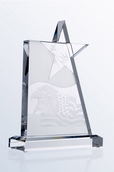 Placa de Cristal Estrella
