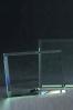 Placa de Cristal Rectangular