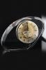Bloque de Cristal Irregular con Reloj