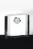 Trofeo de Cristal con Reloj