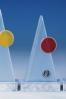 Placa Pirámides de Cristal